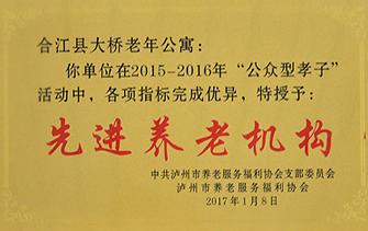 合江县大桥老年公寓先进养老机构